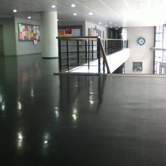 Photo taken at 이화여자대학교 포스코관 (Ewha Womans University POSCO Building) by chalanceii on 9/8/2011