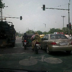 Photo taken at BRT Corridor by Kamal L. on 6/21/2011