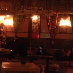Photo taken at Sphinx Hookah Bar & Cafe by Sam W. on 1/19/2012