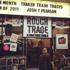 Photo taken at Rough Trade East by Marco M. on 1/15/2012