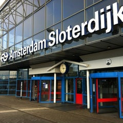 Photo taken at Station Amsterdam Sloterdijk by Rene v. on 11/18/2011