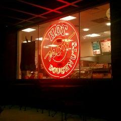 Photo taken at Krispy Kreme Doughnuts by Mollie D. on 8/6/2012