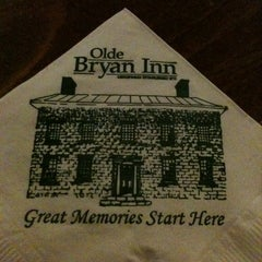 Photo taken at Olde Bryan Inn by Kerri P. on 5/29/2011
