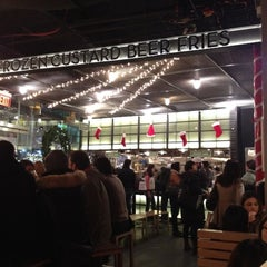 Photo taken at Shake Shack by Social Business Solutions Group L. on 12/5/2011