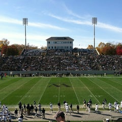 Photo taken at Gibbs Stadium by Christopher Y. on 11/14/2011