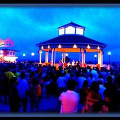 Photo taken at Rehoboth Beach Bandstand by Gardner G. on 7/28/2012