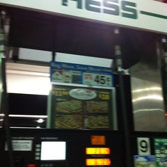 Photo taken at Hess Express by Carlos G. on 3/4/2012