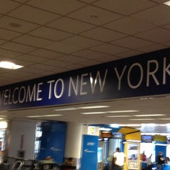 Photo taken at LaGuardia Airport (LGA) by Tracie on 7/13/2012