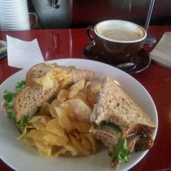 Photo taken at Dolores Park Cafe by Secret A. on 9/1/2011