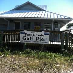 Photo taken at Fort DeSoto State Park by Stacy B. on 1/16/2012