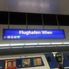 Photo taken at S Flughafen Wien / Vienna Airport by Martin O. on 9/1/2012