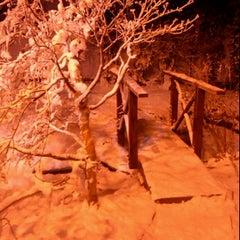 Photo taken at Rumah 4 Musim, Taman Pertanian Malaysia by aizatul h. on 11/30/2011