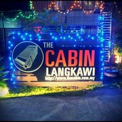 Photo taken at The Cabin Resort Langkawi by Lyne on 11/25/2011