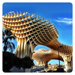 Photo taken at Metropol Parasol by David G. on 11/24/2011