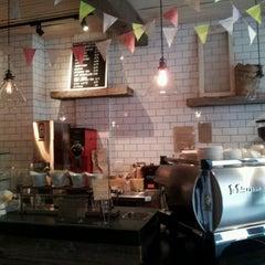 Photo taken at Nolita Mart & Espresso Bar by Frances W. on 5/1/2012