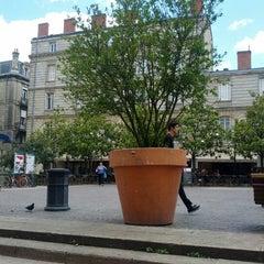 Photo taken at Place Saint-Pierre by Matt M. on 6/12/2012