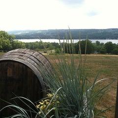 Photo taken at Keuka Spring Vineyards by Erin K. on 7/25/2011