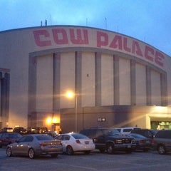 Photo taken at Cow Palace by Kristin V. on 2/12/2012
