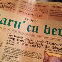 Das Foto wurde bei Caru' cu Bere von Rita B. am 8/9/2012 aufgenommen