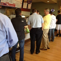 Photo taken at Jersey Mike's Subs by T.J. L. on 2/15/2012