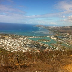 Photo taken at Koko Head Crater Trail by Alex B. on 7/21/2012