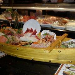 Photo taken at Samurai Sushi and Hibachi by Eric P. on 1/4/2012