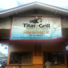 Photo taken at Tita's Grill by Michael C. on 5/6/2012