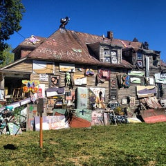 Photo taken at The Heidelberg Project by Marty A. on 9/11/2012