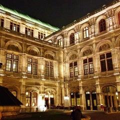 Photo taken at Wiener Staatsoper by Nick G. on 3/12/2012