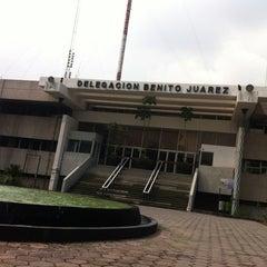 Photo taken at Delegación Benito Juárez by Arturo A. on 7/17/2012
