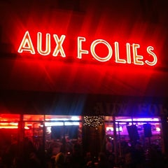 Photo taken at Aux Folies by Andria on 2/4/2012