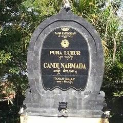Photo taken at Pura Luhur Candi Narmada Tanah Kilap by Bagus A. on 8/23/2012