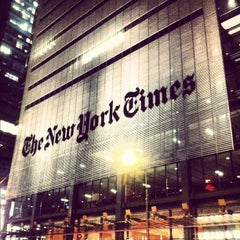 Photo taken at New York Times Building by Brian P. on 3/19/2012