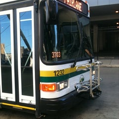 Photo taken at Rosa Parks Transit Center by Lauren T. on 4/4/2012