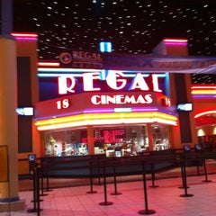 Photo taken at Regal Cinemas Arbor Place 18 & IMAX by Kyle B. on 6/8/2012