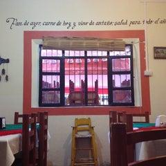 Photo taken at El zacahuil huasteco by Aleyda G. on 9/4/2012