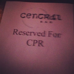 Photo taken at Central Bar by Shiven R. on 5/31/2012