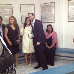 Photo taken at Registro civil by Betza G. on 7/21/2012