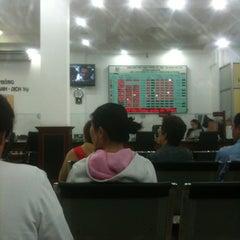 Photo taken at Vietcombank Phu Tho by Thu Hang L. on 7/9/2012