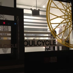 Photo taken at SoulCycle Union Square by Beth S. on 2/16/2012