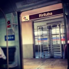 Photo taken at Estação Pirituba (CPTM) by Mônica C. on 6/17/2012