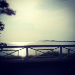 Photo taken at Chesapeake Bay Beach Club by Winnie K. on 7/7/2012