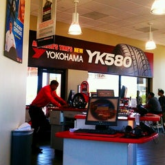 Photo taken at America's Tire Store by Jeanine M. on 7/28/2012