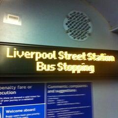 Photo taken at TfL Bus 8 by Frankie C. on 2/21/2012