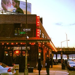 Photo taken at Dinosaur Bar-B-Que by Alex M. on 3/30/2012