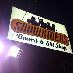 Photo taken at Snowrider Board And Ski Shop by Rolando V. on 12/28/2010