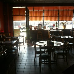 Photo taken at Pizza Post by Rebecca M. on 3/19/2012