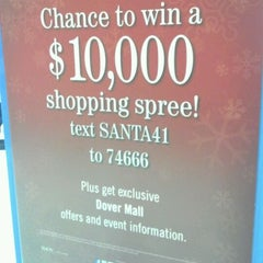 Photo taken at Dover Mall by Tricia S. on 11/25/2011