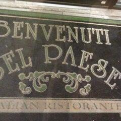 Photo taken at Bel Paese Italian Ristorante by Matt N. on 11/25/2011