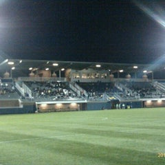 Photo taken at U-M Soccer Complex by Rick J. on 10/6/2011